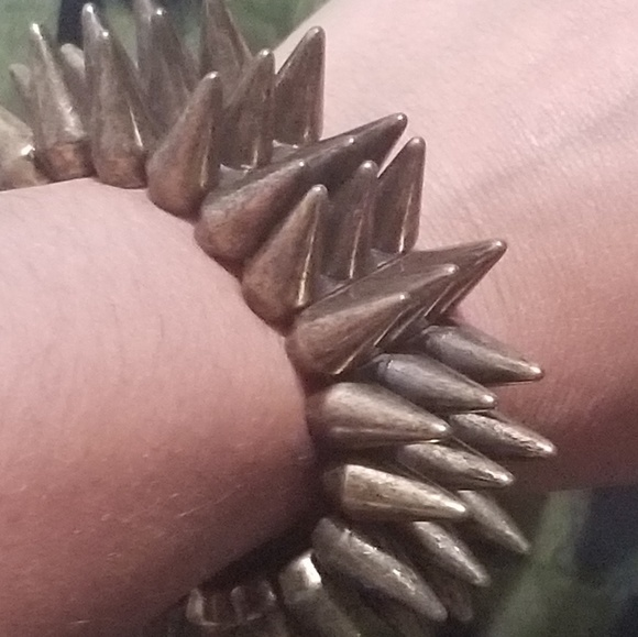 Vintage Jewelry - Spiked Bracelet